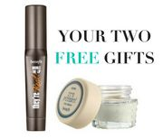 Two FREE Gifts When You Spend £25 on Benefit at Look Fantastic