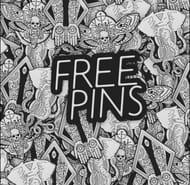 Free Enamel Pin Badge from the Killing Tree®