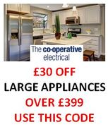 £30 off Large Appliances over £399