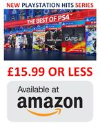 NEW PLAYSTATION HITS SERIES £15.99 or LESS! Loads of Titles to Choose From
