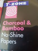 T-Zone Charcoal & Bamboo No-Shine Papers