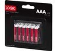 LOGIK LAAA1216 AAA Alkaline Batteries - Pack of 12