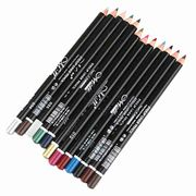 12 Color Cosmetics Makeup Pens Waterproof Eyebrow Eye Liner Lip Eyeliner Pencil
