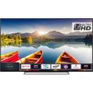 Hisense 55 Inch, Ultra HD, Freeview Play, Smart 4K TV + 4yr Warranty