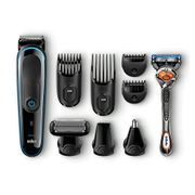 Braun 9-in-1 Precision Trimmer with Gillette Fusion ProGlide Razor