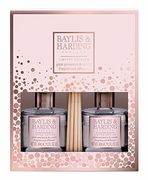 Baylis & Harding Pink Prosecco and Cassis Duo Diffuser Set