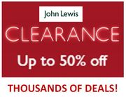 John Lewis CLEARANCE - Thousands of Deals!
