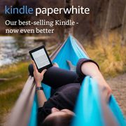 """Kindle Paperwhite E-Reader, 6"""" High-Resolution Display (Black) Only £109.99"""