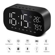 [Amazon Prime Day]40% off Digital Alarm Clock Bluetooth Dual Speaker FM Radio