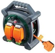 Masterplug Weatherproof Garden Extension Cable Reel - 20m 10A Only £23