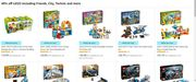 40% off on LEGO including Friends, City, Technic and More at Amazon