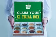 £1 Cooking Food Recipe Box