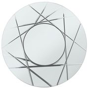 Heart of House Flint round Grooved Wall Mirror £22