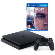 94a5a5cfa68 PS4 Console: 500GB Slim (New Model) with Detroit: Become Human Only £