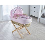Butterfly Moses Basket ( Stand Sold Seperate )
