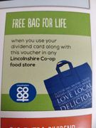 "For New Members Registering - Free ""Bag for Life"""