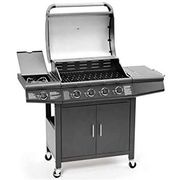 FirePlus 4+1 Gas Burner Grill BBQ Barbecue