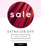 Extra 10% off SALE - This Weekend Only!