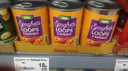 * End of Line in Asda Should Be Nationwide * Spaghetti Loops + Sausages