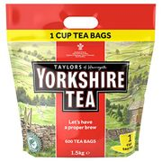 600 Yorkshire Tea Bags - Only £9 today!