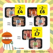 Any 2 for £4 Deal on BBQ Meats
