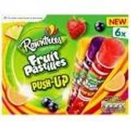 Rowntrees Fruit Pastilles Push-up 6 X 80ml