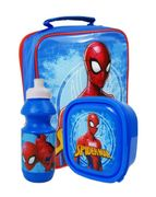 Spiderman School Lunch Bag Set
