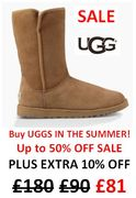 UGG Boots BARGAINS! BUY YOURS VERY CHEAP NOW - as It's Summer
