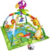 Fisher-Price DFP08 Rainforest Gym, Baby Playmat with Music and Lights,