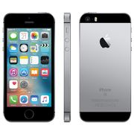 "Apple iPhone SE, iOS 10, 4"", 4G LTE, SIM Free, 32GB, Space Grey"
