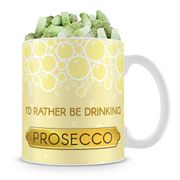 Prosecco Mug with Sweets