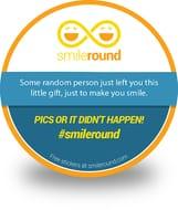 Smile around Stickers