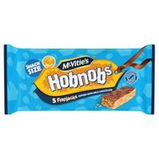 McVitie's Hobnobs 5 Flapjacks Topped with Milk Chocolate