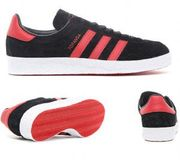 Adidas Originals Topanga Trainer | Core Black / Scarlet