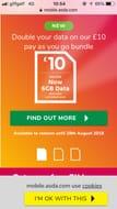 6GB Data for £10 at Asda Mobile