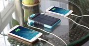 Solar Power Bank with Dual Charging Points