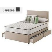 Layezee Addison 800 Pkt Sprung Divan Single/Double/King from £179