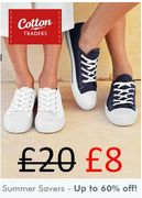 Cotton Traders -SUMMERS SAVERS - Get up to 60% Off