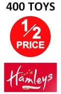 400 TOYS HALF PRICE at HAMLEYS