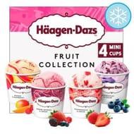 Haagen Dazs Fruit Ice Cream Collection Minicups 4X100ml