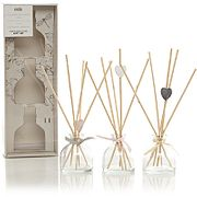 Assorted Scents Heart Reed Diffuser Gift Set 3 Pack Free C&C