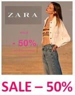 Love ZARA? Love 50% Off? The ZARA Sale's is On!