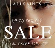 ALLSAINTS - up to 50% off | Now with an Extra 20% off Sale