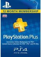 PlayStation plus - 12 Month Subscription (UK) PS Plus