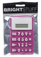 WHSmith Silicone Pink Calculator
