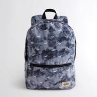 Hollister Navy Tie-Dye Backpack