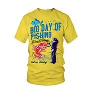 Fishing Day T Shirt