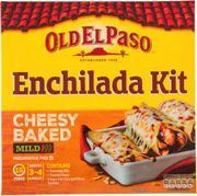 Old El Paso Cheesy Baked Enchilada Kit or Smoky BBQ Fajita Kit