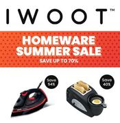 Rummage Time! IWOOT Homeware Summer Sale. save up to 70%