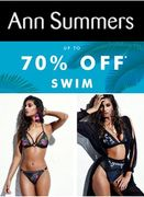 Good Swimwear Deals at Ann Summers - Sexy Swimwear up to 70% Off